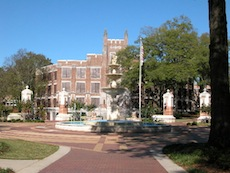 Views of the San Antonio Alabama Alumni Chapter campus