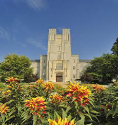 Views of the Virginia Tech Germany Alumni Chapter campus