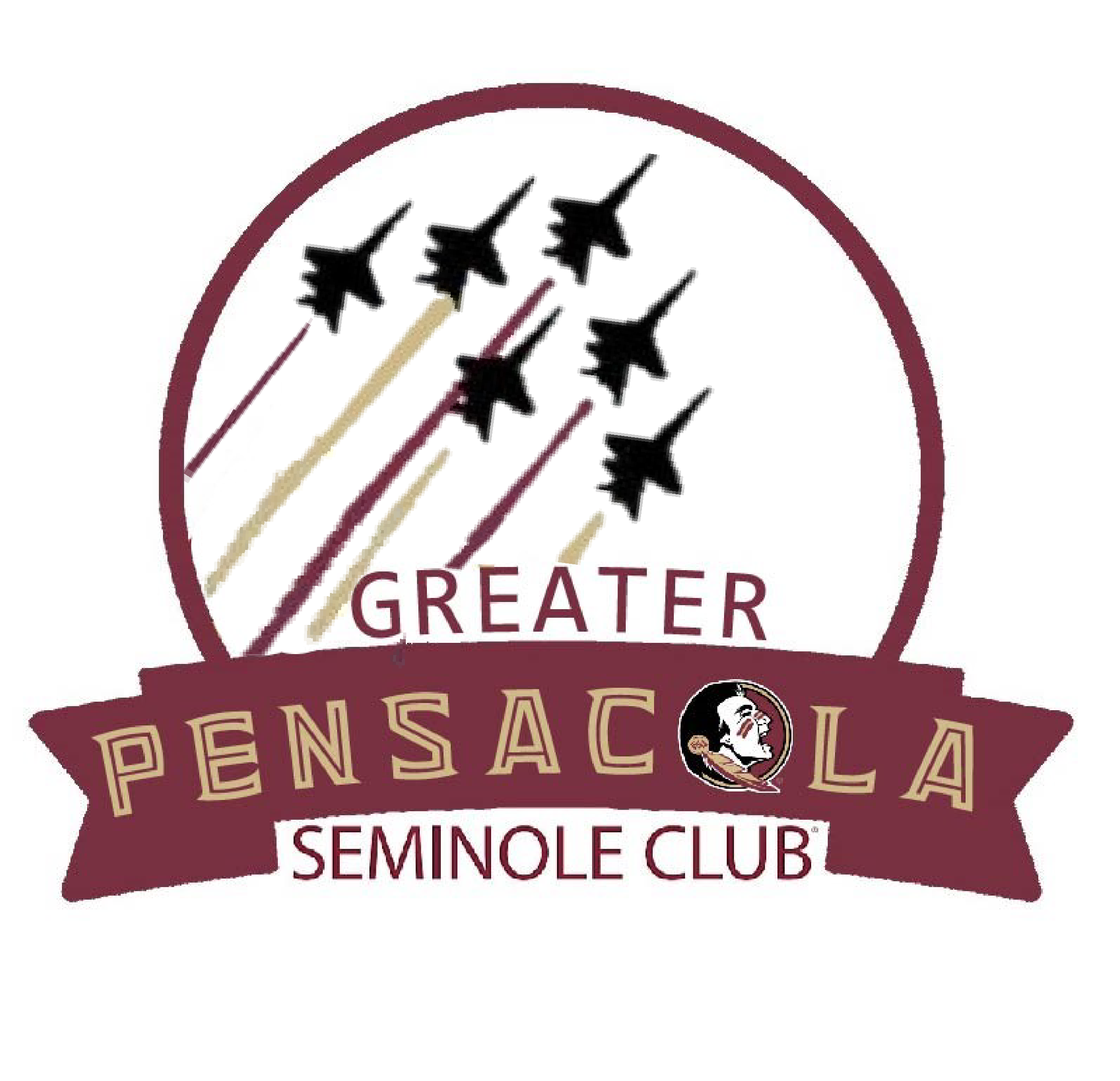Greater Pensacola Seminole Club Logo