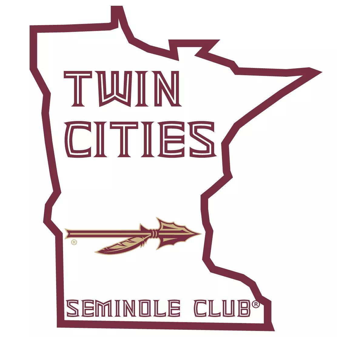 Twin Cities Seminole Club Logo